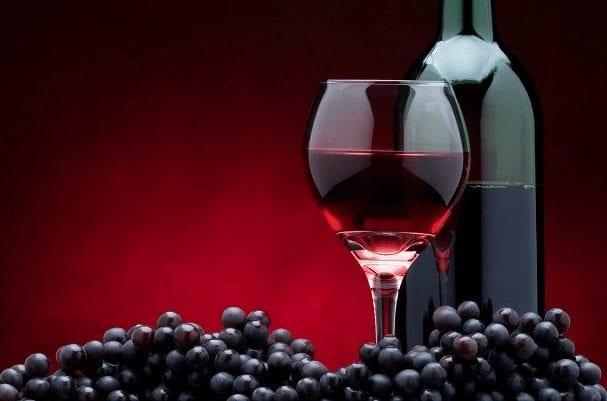 Copa - vinho tinto seco
