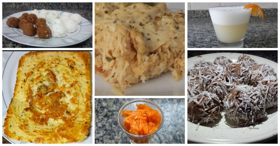 página de livro de receitas low carb em pdf - receitas low carb de drinks, almoço, jantar, café da manhã, sopas e sobremesa