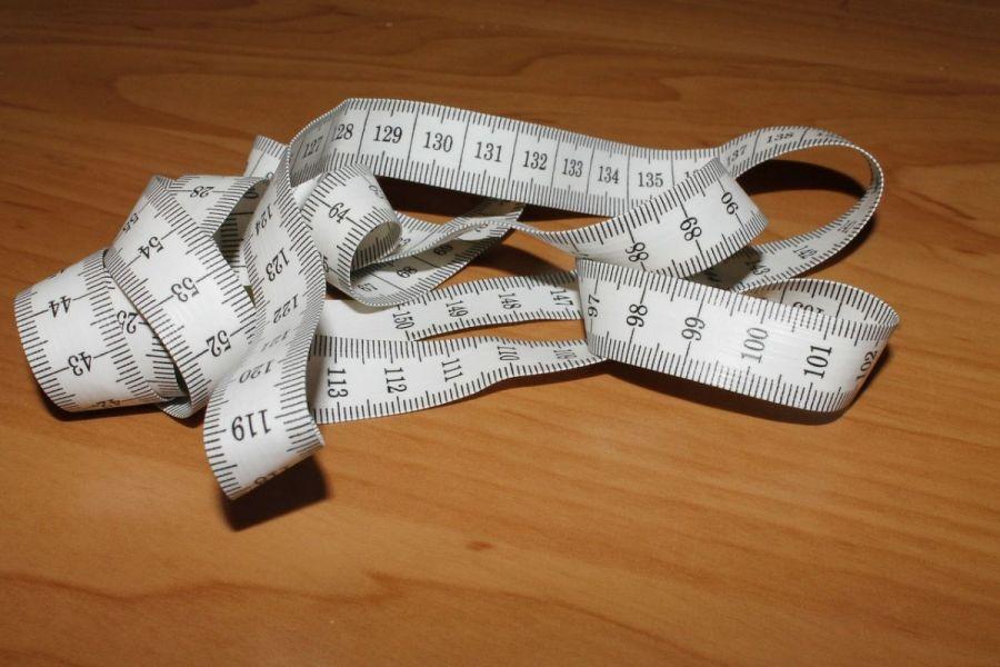 medidas - fita metrica para tirar medidas corporais