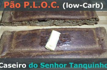 [Receita] O Pão Low-Carb Que Vai Salvar a Sua Dieta: Pão P.L.O.C.!