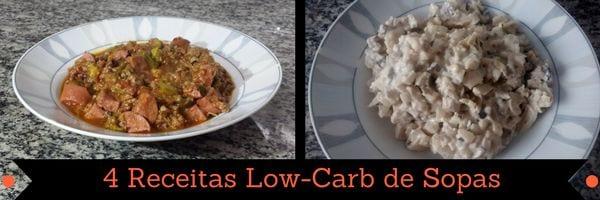 página de livro de receitas low carb em pdf 4 receitas low carb de sopas
