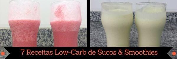página de livro de receitas low carb em pdf 7 receitas low carb de sucos & smoothies