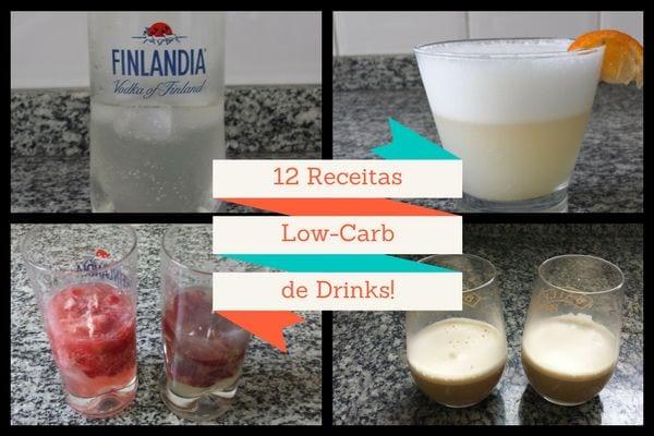 página de livro de receitas low carb em pdf 4 receitas low carb de drinks