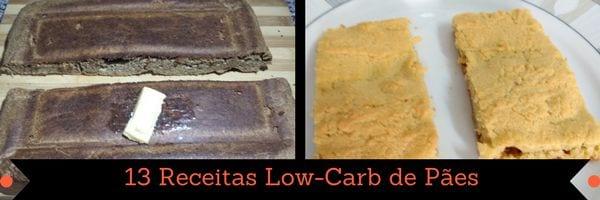 página de livro de receitas low carb em pdf 4 receitas low carb de pães