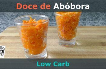 [Receita] Doce de Abóbora Low-Carb