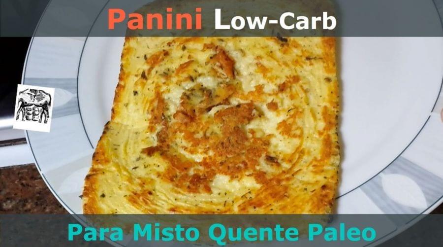 receita de panini low carb feito pelo senhor tanquinho
