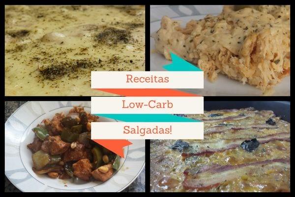 receitas low carb salgadas de almoço e jantar do senhor tanquinho