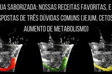 Água Saborizada: Nossas Receitas Favoritas, E As Respostas De Três Dúvidas Comuns (Jejum, Cetose E Aumento De Metabolismo)