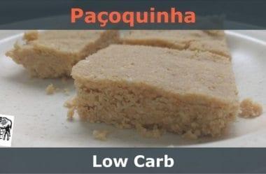 [Receita] Paçoquinha Low-Carb
