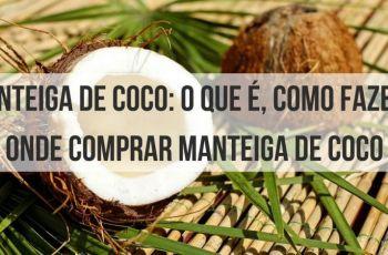 Manteiga De Coco: O Que É, Como Fazer E Onde Comprar Manteiga De Coco