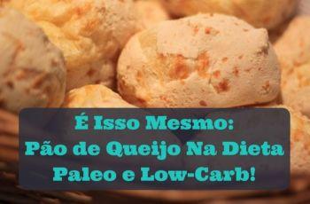 [2 Receitas] Pão De Queijo Paleo / Primal & Pão De Queijo Low-Carb / Cetogênico