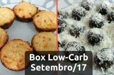 Box Low-Carb #1 – Queijadinha e Brigadeiro
