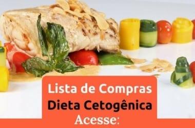 Lista De Compras Completa Para A Dieta Cetogênica / Low-Carb