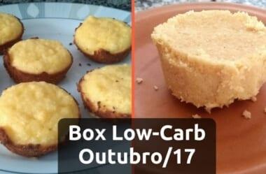 Box Low-Carb #2 – Bolinho De Coco e Paçoquinha