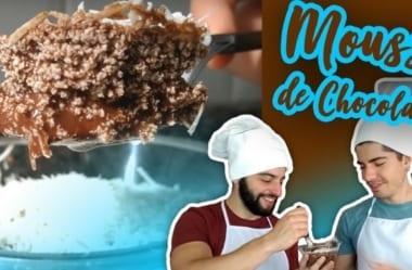 [Receita] Mousse Low-Carb De Chocolate De Apenas 2 Ingredientes
