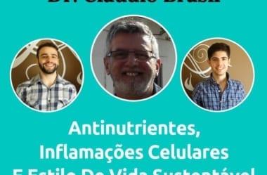 Podcast #046 – Dr. Cláudio Brasil Fala Tudo Sobre Antinutrientes, Inflamações Celulares E Estilo De Vida Sustentável