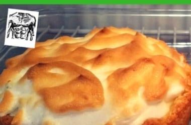 """[Receita] A Famosa Torta De Limão Low-Carb """"Para Comer Rezando"""" Do Senhor Tanquinho"""
