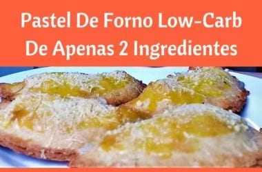 Receita: Pastel De Forno Low-Carb De 2 Ingredientes