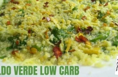 Caldo Verde Low-Carb — Receita Cetogênica À Base De Chuchu Ou Couve-Flor