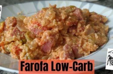[Receita] Farofa Low-Carb: Como Fazer A Farofa Cetogênica