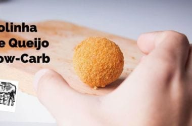 Receita Low-Carb De Bolinha De Queijo Cetogênica