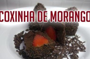 Brigadeiro E Coxinha De Morango – Receita Low Carb E Cetogênica