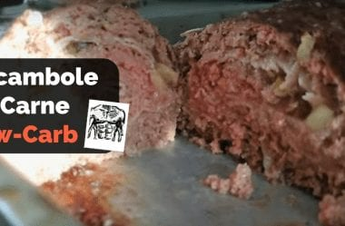 Rocambole De Carne Cetogênico — Receita Low-Carb